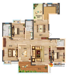 滨江尚城户型图